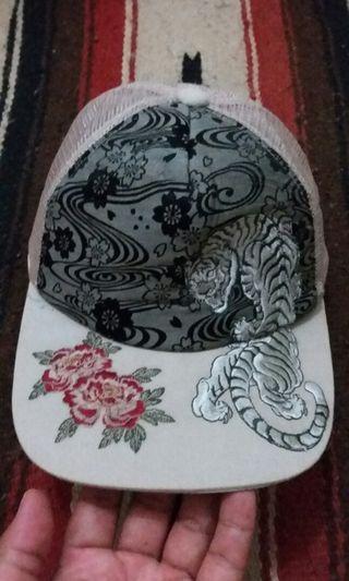 Sukajan embroided trucker cap