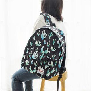 Cactus Style Canvas Backpack