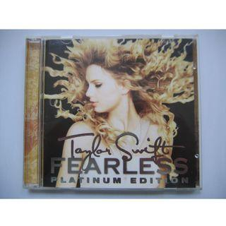 Taylor Swift - Fearless ~Platinum Edition~ CD + DVD (港版)