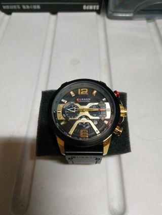 🚚 CURREN/卡瑞恩8329新款大錶盤三眼