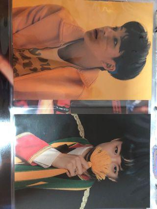 NCT NCT127 Mfal My First and Last Postcard Set