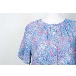 🚚 ::FlowerHolic:: Vintage 古著短袖襯衫 239