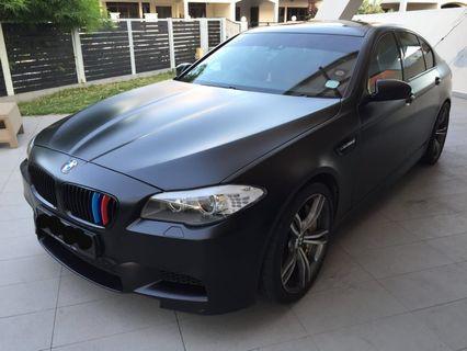 BMW M5 4sec Car