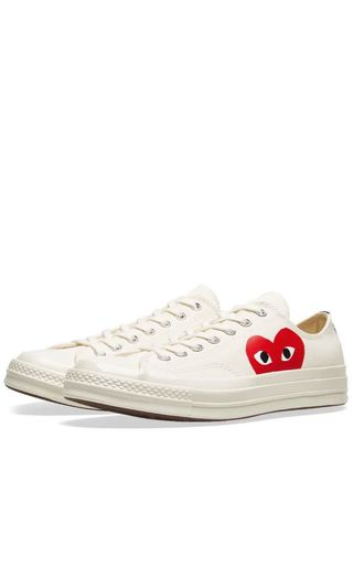 74334d86dfe3 Comme des garcons play converse high top canvas sneakers