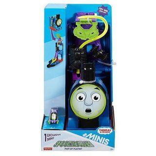費雪 迷你湯瑪士 俯衝軌道遊戲組 萬聖節 小火車 帶著走遊戲 兒童玩具