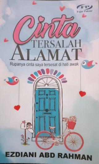 🚚 Malay Novel - Cinta tersalah Alamat