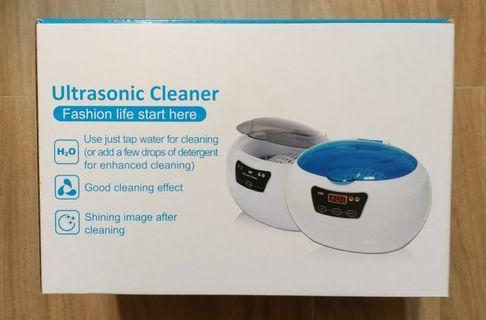 Ultrasonic Cleaner 超聲波 清洗機 可清洗 眼鏡 手錶 美容工具 美容儀器