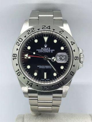 🚚 Rolex Explorer 2 16570 Black
