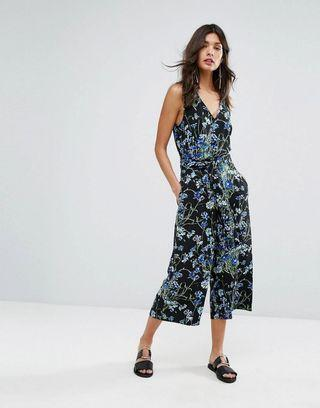 WAREHOUSE Full Bloom Jumpsuit NEE