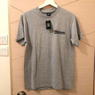 Volcom Grey with Back Print T-shirt for Men