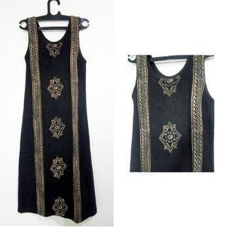 Dress vintage motif