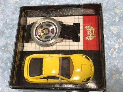 TOMICA & WATCH 30th Anniversary TOYOTA CELICA 1/60 TOMY DIECAST CAR