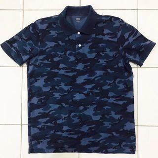 Uni Qlo Polo Shirt Camo