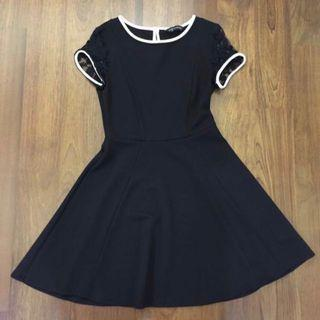 Dorothy Perkins Black Skater Dress