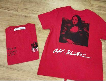 🆕🔥Authentic OFF-WHITE SS19 MONA LISA Tee