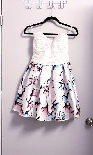 Designer Bandage & Floral Dress