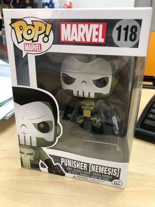 Punisher Nemesis Funko Pop (nt Marvel, DC, Ironman, Avengers, Captain America, Black Panther, Deadpool, Hellboy, Spiderman, Superman, Batman, Wonder Woman, Mickey Mouse)