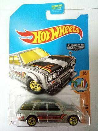 Hot Wheels datsun wagon 510 zamac