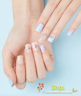 韓國熱賣 Dashing Diva指甲貼 Gel 甲貼 D191