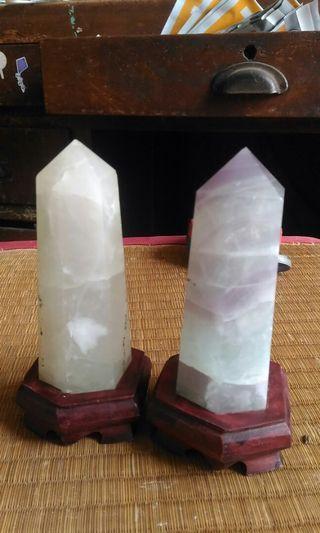 🚚 天然水晶柱