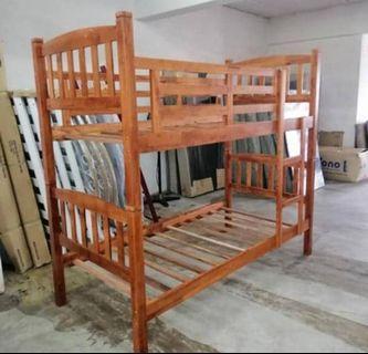 Katil kayu double decker