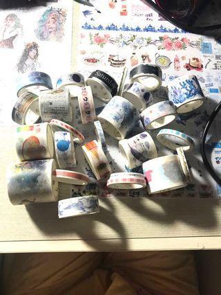 $50 全部!MT Masking Tape 花紋膠紙