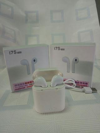 🚚 i7S無線雙耳藍芽耳機