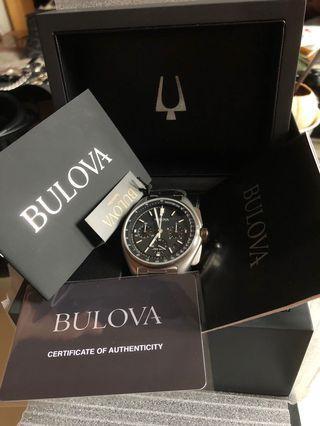 Bulova Lunar Apollo Speedmaster homage watch BNIB
