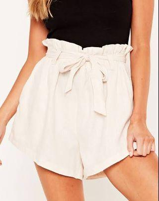 Size 8 (fits 10) | Glassons Paperbag Shorts