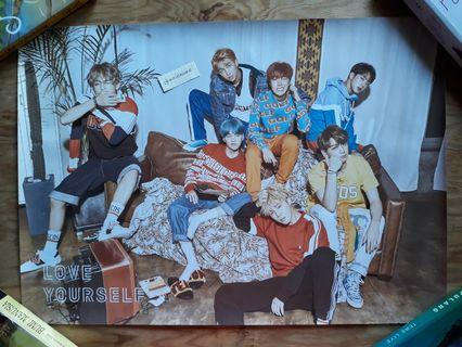 Official BTS Poster Love Yourself: Her