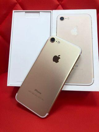 Iphone7 128gb gold