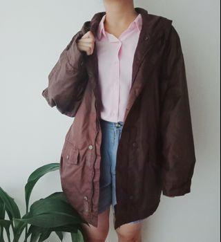 Thrift Dark Brownie Jacket