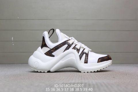 lv arch light sneaker