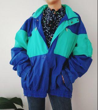 Thrift 2 Tone Jacket / Jaket Retro & Vintage