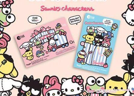 BN - Ezlink Sanrio Characters Card - Each card hv load value of $7 Expiry: 2025
