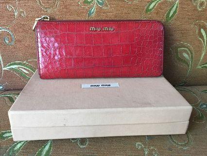 MIU MIU Wallet 💯 authentic (preloved)