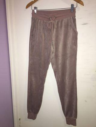 VELVET tracksuit bottoms