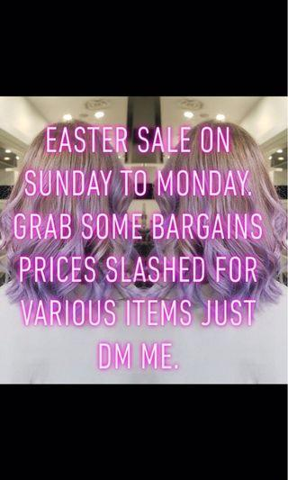 Sale on!! No holds
