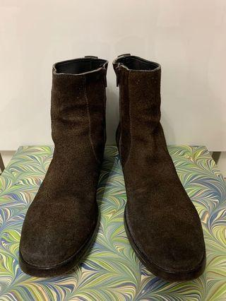MOMA leather boots [Made in Italy]