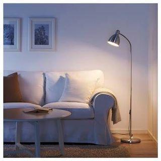 Ikea Lersta Floor Lamp Aluminum