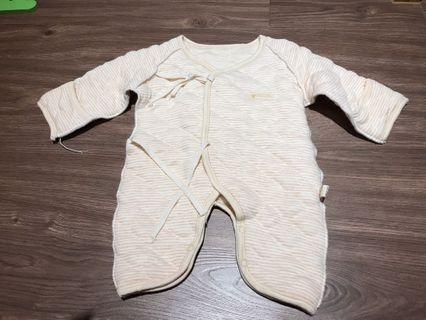 🚚 0-6m 嬰兒冬季鋪棉蝴蝶裝