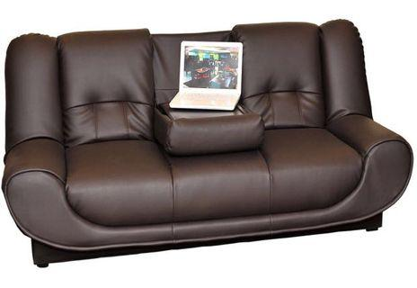 Urban Concepts Sofa Bed with Folding Table And Storage