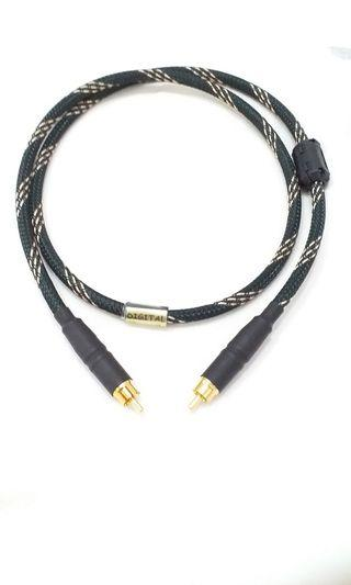 Digital Coaxial 75ohm RCA to RCA Interconnect Cable