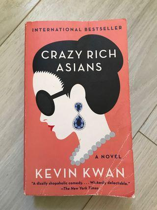 🚚 Crazy Rich Asians by Kevin Kwan #EndgameYourExcess