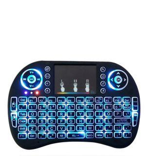 Backlight 2.4G Mini Keyboard Rechargeable(Include Li-ion Battery