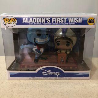 Pop! Disney Aladdin's First Wish Vinyl Figures #409 - Genie & Aladdin