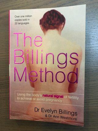 🚚 The billings method - book to guide on fertility - achieve or avoid pregnancy