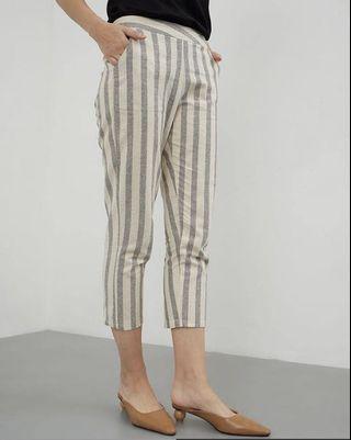 Stripes Pants Grey Berrybenka