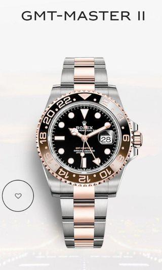 Rolex Root beer 126711 CHNR GMT Master 2