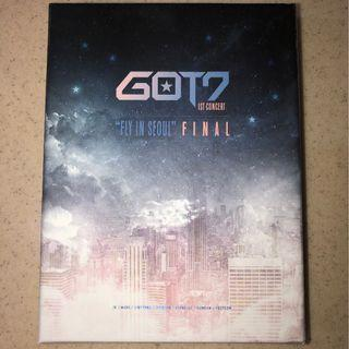 "GOT7 Official 1st Concert ""FLY IN SEOUL"" FINAL DVD"